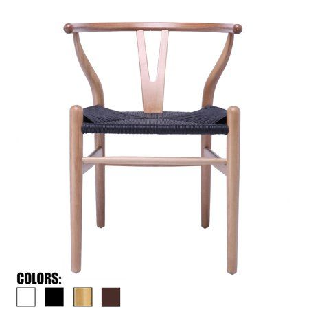 2xhome Black Wishbone Wood Wooden Armchair With Arms Open Y Back Open Mid Century Modern Contemporary Industrial Office Dining Room Chairs Dark Woven Seat For L Wooden Armchair Chair Wood Arm