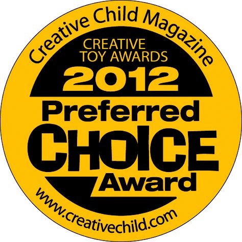 My Very Happy Birthday book awarded 2012 Preferred Choice Award from Creative Child Magazine.
