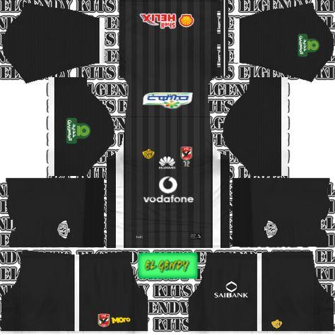 Dream League Soccer Kits Al Ahly 512x512 Url 2018 19 Soccer Kits League Soccer
