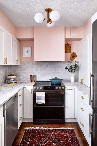How One Designer Solved Kitchen Overflow in This D.C. Apartment