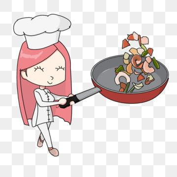 كرتون شيف شيف شابو شابو توضيح كرتون شيف أنثى الطبخ المئزر Png وملف Psd للتحميل مجانا In 2020 Kids Rugs Female Chef Kids
