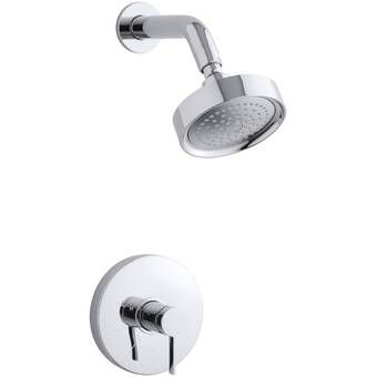 Align Volume Control Shower Faucet With Moentrol Shower Heads