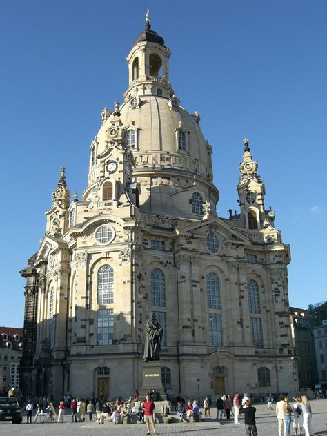 Catedral De Dresden Alemania Church Of Our Lady Germany Dresden Germany