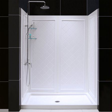 Home Improvement Shower Installation Shower Kits Acrylic