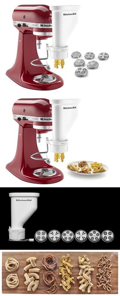 Pasta Makers 20680: Kitchenaid Gourmet Pasta Press (Bucatini ...