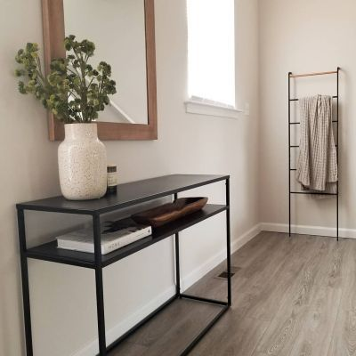 Glasgow Metal Console Table Black Project 62 Metal Console