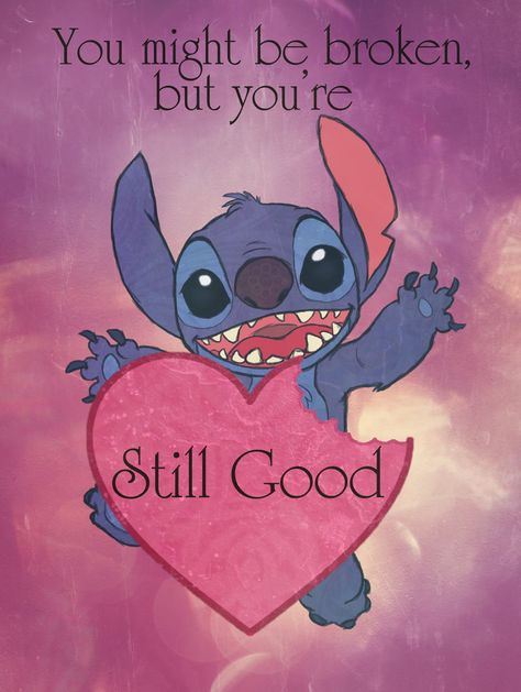 Stitch Loves You by Morloth88.deviantart.com on @DeviantArt
