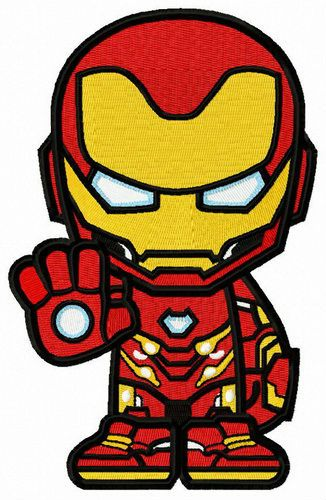 Iron Willed Iron Man Embroidery Design Avengers Drawings Iron Man Cartoon Marvel Characters Art Cute iron man animated wallpaper
