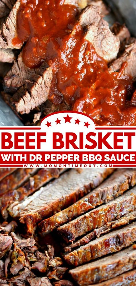 In search of Memorial Day food that can feed a crowd? Say hello to the perfect grilling recipe! Cooked low and slow then simmered with a mind-blowing Dr. Pepper Barbecue Sauce, this beef brisket comes…
