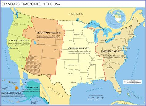 BTimeb BZoneb Map Of The BUnited Useful Information - Us map with time zone lines