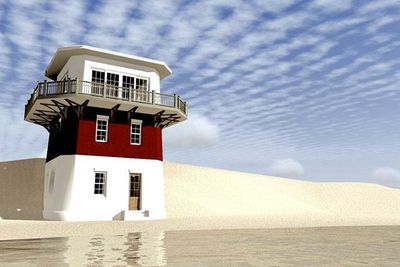 Plan 44092td Lighthouse Vacation Home Plan In 2021 House Plans Small House Plans Vacation Home