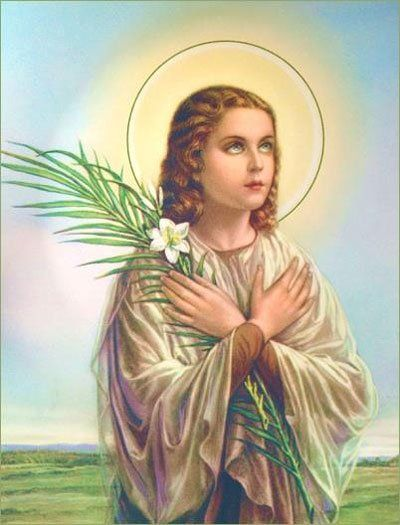 About St. Maria Goretti - Patron Saint Article