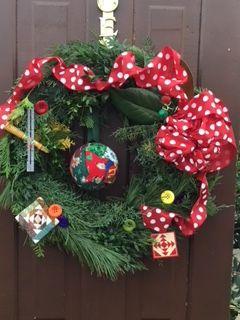 2018 Holiday Wreath Workshop Holiday Wreaths Christmas Wreaths Wreaths