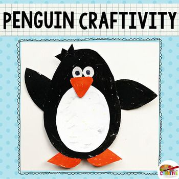 Penguin Craft Template Penguin Crafts Preschool Penguin Craft