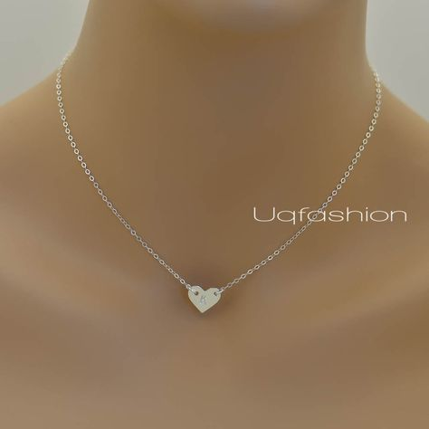 Bridesmaid necklace Initial necklace Valentines Necklace 14K GOLD Plated Leaves Pendant Necklace Flower girl Gift Wedding Jewelry