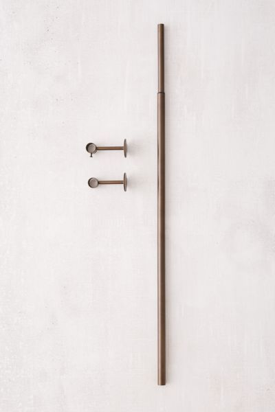 Adjustable Curtain Rod In 2020 With Images Curtain Rods Urban