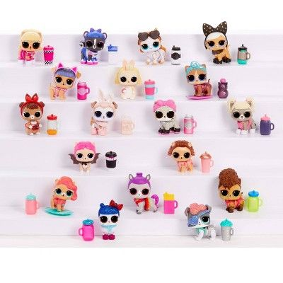 L O L Surprise Fluffy Pets Winter Disco Series With Removable Fur In 2020 Lol Dolls Fluffy Animals Cute Clay