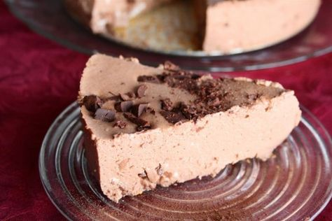 no bake chocolate cheesecake without the cream cheese made with rh pinterest com