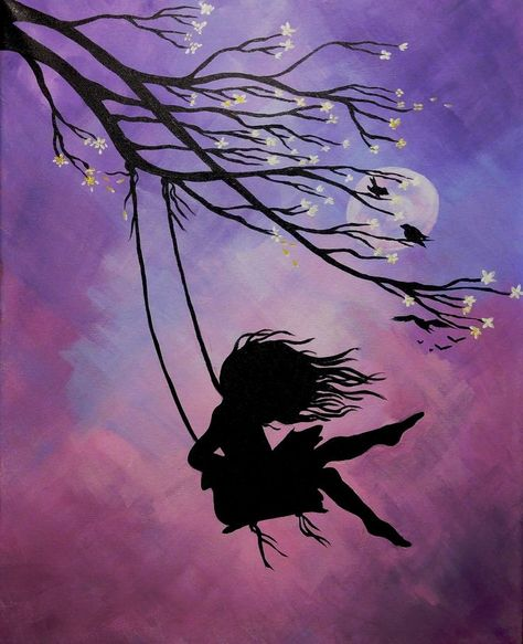 Whimsy and Wine Painting Parties- Grey Bruce | A Midsummer Night's Swing - #Bruce #grey #Midsummer #Night39s #Painting #Parties #Swing #Whimsy #Wine