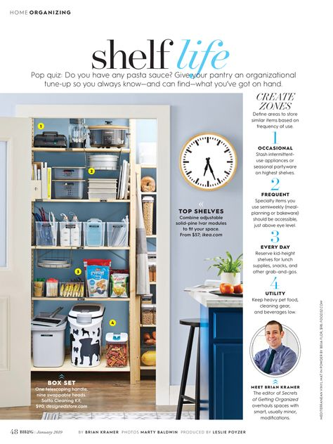 Shelf Life From Better Homes And Gardens January 2019 Read It On