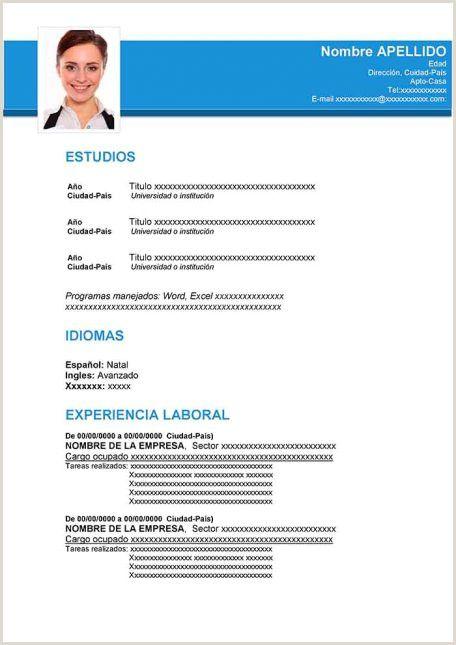 Formato De Hoja De Vida Computador In 2020 Curriculum Vitae Examples Curriculum Vitae Types Of Resumes