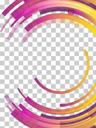 Circle Abstraction Abstract Differential Geometry Colorful Abstract Geometric Circle Round Blue Pink And Yellow Png Geometric Circle Clip Art Free Clip Art