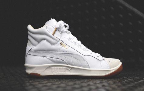 Puma Challenge Advantage Mid 'White & Gum' | Sneaker