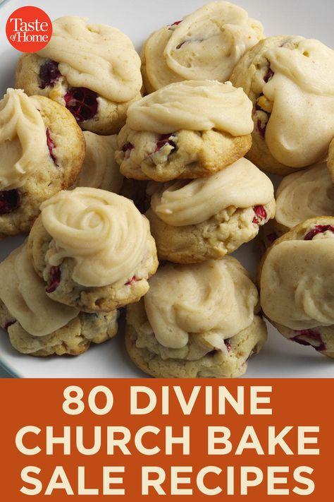 Bake Sale Recipes, Baking Recipes, Bake Sale Ideas, Baking Snacks, Easy Cookie Recipes, Köstliche Desserts, Delicious Desserts, Yummy Food, Potluck Recipes
