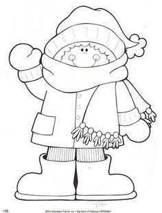 Menta Mas Chocolate Recursos Y Actividades Para Educacion Infantil Dibujos Para Colorear Del Invier Invierno Preescolar Dibujos De Invierno Tema De Invierno
