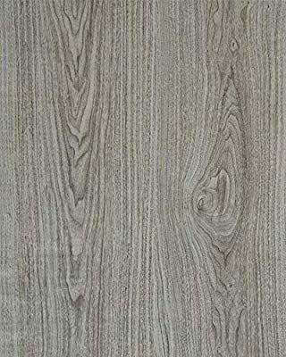 Gray Wood Grain Film Self Adhesive Panel Grey Wood Textured Peel