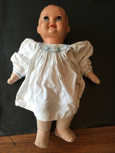 Lalka Stara Placze Antyki Domanski 7435683814 Oficjalne Archiwum Allegro Flower Girl Dresses Flower Girl Girls Dresses
