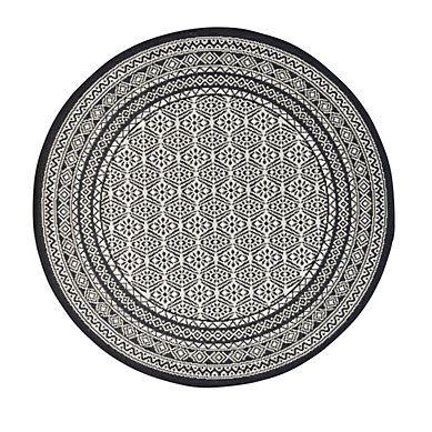 tapis rond d 120 cm chiraz gris but