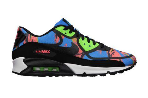 Herre Nike Air Max 90 Premium Em Camouflage Kondisko Sort