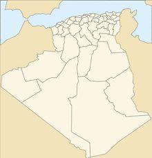 Carte Algerie Vierge Couleur Carte Algerie Carte Geographique