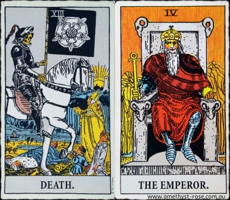 6 July 2016 #EnergyOfTheDay #TarotNumerology #Death #TheEmperor  #Tarot #QuestionsForReflection #InsightsFromTheTarot #WisdomOfTheTarot   Life goes on - don't be so rigid that you miss the opportunities that arise from this ending. New beginnings bring new opportunities to do things in a new way. Maintain your focus, but allow for flexibility.  What are you ready to leave behind? What new opportunities are you looking forward to?  💜 Vanda xx