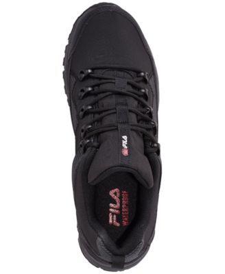 c7599deefe Fila Men's Switchback 2 Hiking Sneakerboots from Finish Line - Black ...