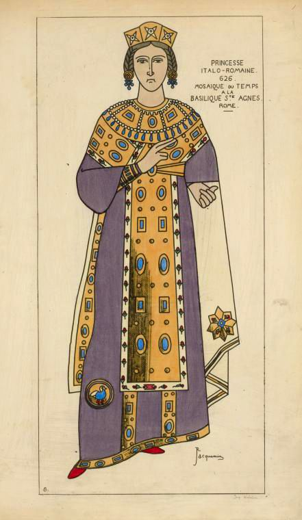Costume Illustrations by Raphaël Jacquemin,Paul Louis Giafferri and Pauquet Brothers