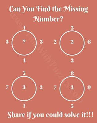 Brain Teaser Math Question For Teens With Solution Brain Teasers Math Questions Brain Math