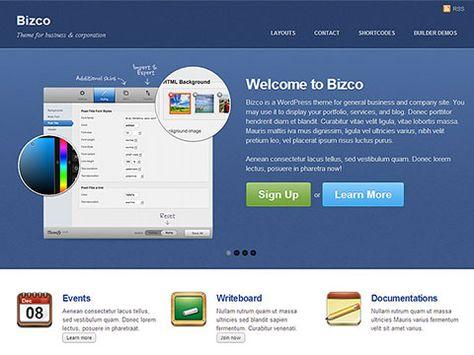 Get the latest version of Bizco WordPress Theme