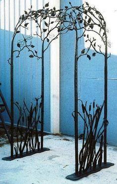 Wrought Iron Art Nouveau Trellis Google Search With Images