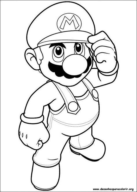 Super Mario Bros 16 Jpg 567 794 Desenho Super Mario Desenhos
