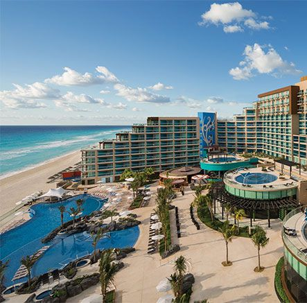 Host Your Destination Wedding Here Paradise Hard Rock Hotel Cancun Hard Rock Hotel Cancun Cancun Hotels Mexico Vacation