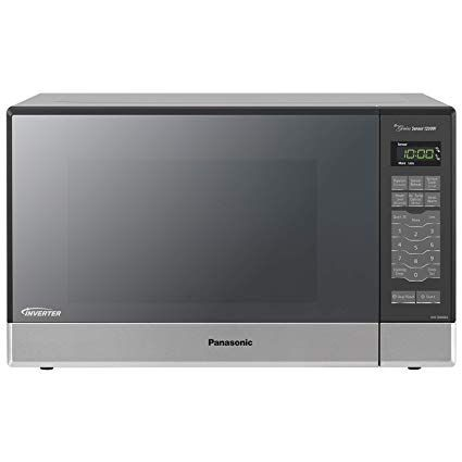Panasonic Microwave Oven Nn Sn686s Stainless Steel Countertop Built In With Inverter Technology Panasonic Microwave Oven Panasonic Microwave Built In Microwave