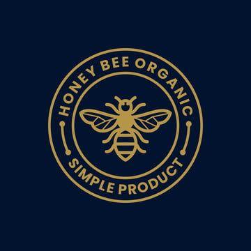 خمر ريفي عسل النحل تصميم شعار تسمية الطوابع Honey Logo Logo Bee Logo Design