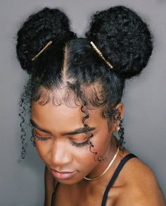 Natural Hair Updo Styling For Black Women To Style Their Hair At Home Natural Hair Styles Easy Natural Hair Updo Hair Styles