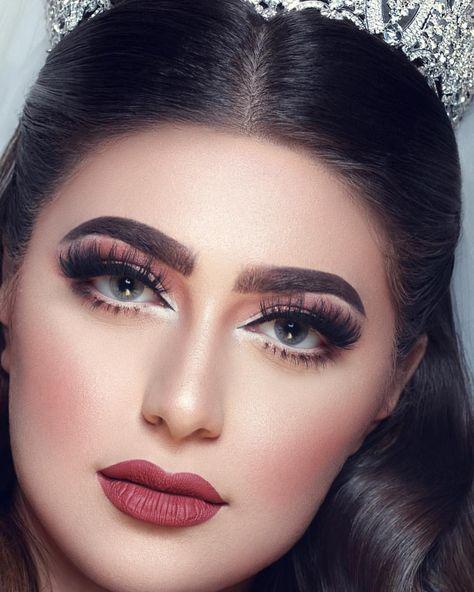 تفاصيل لوك عروستي الانيقه Girls Makeup Simple Makeup Beauty Makeup