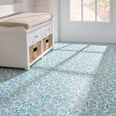 Transform A Room With Beautiful Peel And Stick Floor Tiles The Tiles Are Made Of Vinyl And Have An Adhesive Back Maki Peel And Stick Floor Flooring Tile Floor