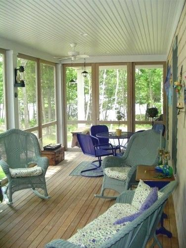 Enclosed Back Porch Ideas Patio Screened Porch Design Ideas