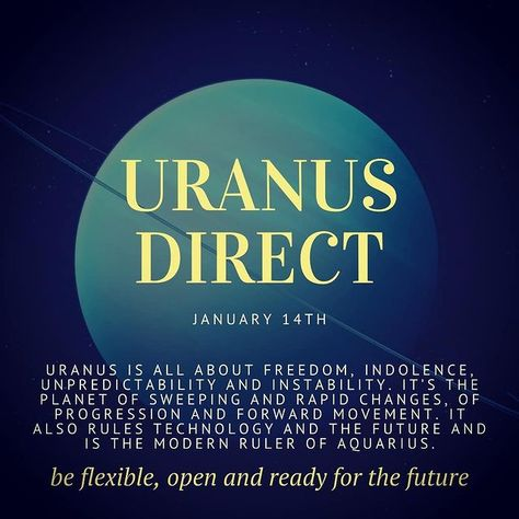 """AstroMatrix Horoscopes na Instagramu: """"The planet Uranus in mythology was one of the original """"Sky Gods"""", a Titan, and once, even the ruler of the known universe! Quite a title…"""""""