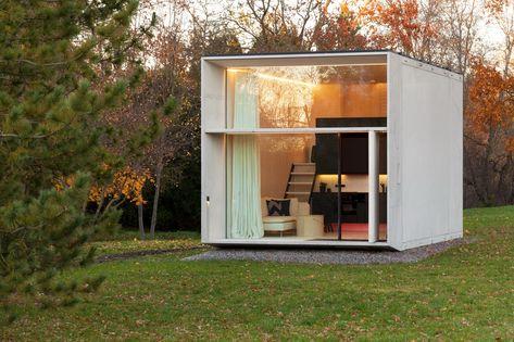koda architecture micro house prefabricated houses tiny house rh pinterest com au